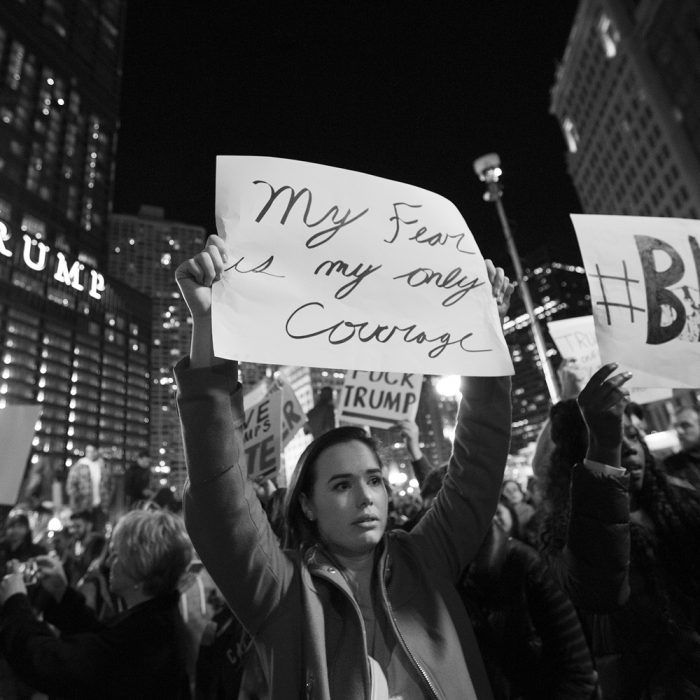Chicago Protests Trump Election